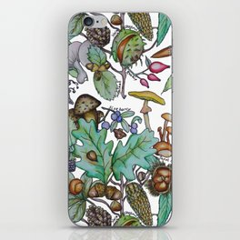 English Autumn Forest iPhone Skin