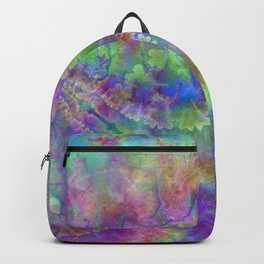 abstract 004: acidic Backpack