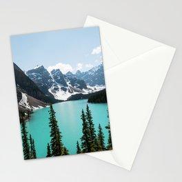 Moraine Lake Landscape Photography Stationery Cards