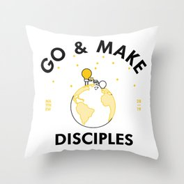 Go and Make Disciples Throw Pillow