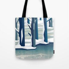 Spring was coming Tote Bag