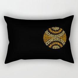 Calligram 3 Rectangular Pillow