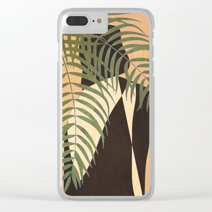 Resting in a Shade Clear iPhone Case