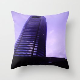 catch me @ the top Throw Pillow