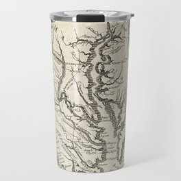 Vintage Map of The Chesapeake Bay (1780) Travel Mug
