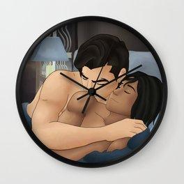 Makorra - Shoulder Kisses Wall Clock