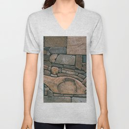 pieces of wood Unisex V-Neck