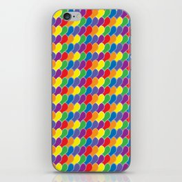 Pride Heart Scale Pattern iPhone Skin
