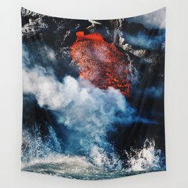 Fire and Fury Wall Tapestry