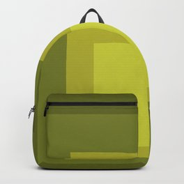 Block Colors - Yellow Green Backpack