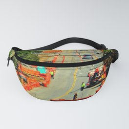 Orange Alert - There Goes The Neighborhood Fanny Pack