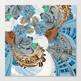 New York City - Escher Droste Edition Canvas Print