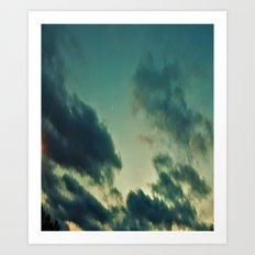 The Lords heaven! Art Print