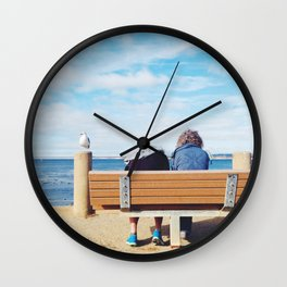 San Carlos Beach Wall Clock
