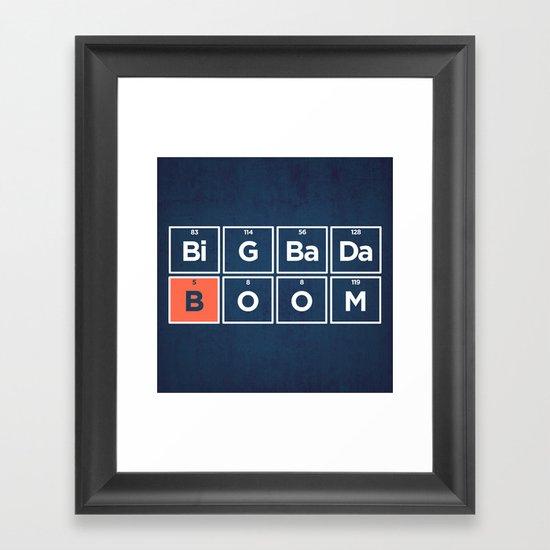 Boron Framed Art Print