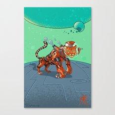 Astro Zodiac Force 03: Tiger Canvas Print