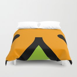 face 7 Duvet Cover