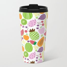 Juicy fruits Metal Travel Mug