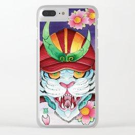 Tora! Clear iPhone Case