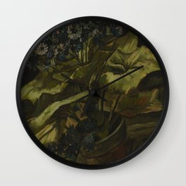 Vincent van Gogh - Cineraria (1886) Wall Clock
