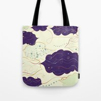 celestial Tote Bags featuring Celestial by Grace Anne