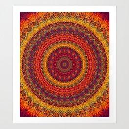 Mandala 287 Art Print