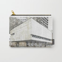 Urban watercolor - Colombia Carry-All Pouch