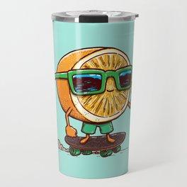 The Orange Skater Travel Mug