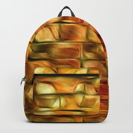 Autumn Leaves On My Patio Backpack