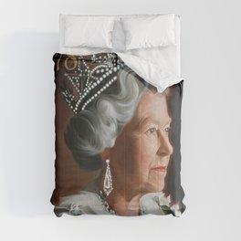 QUEEN ELIZABETH II STAMP Comforters