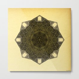 - crystal sand - Metal Print