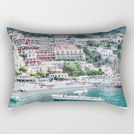 In Positano Rectangular Pillow