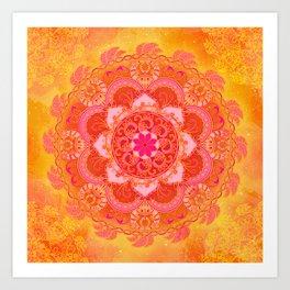 Sun Bliss Art Print
