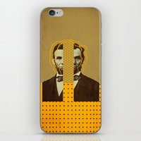 lincoln iPhone & iPod Skins featuring AbracadAbraham - Lincoln by AmDuf