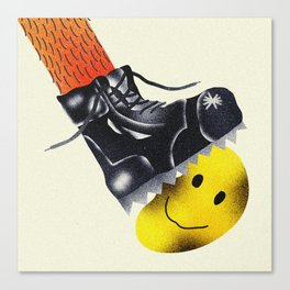 Just Keep Smiling Canvas Print