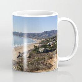 Malibu, California - Coastline Coffee Mug
