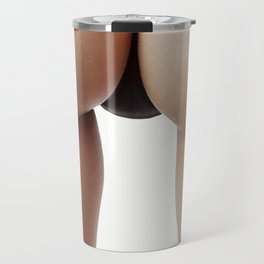 Woman butt. Minimalism Travel Mug