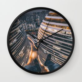 Nightscape 44 Wall Clock