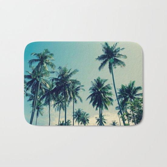 Coconut Trees Bath Mat