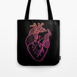 Designer Heart Colors Tote Bag