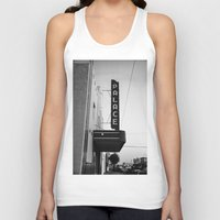 theater Tank Tops featuring Palace Theater by Teran Jones