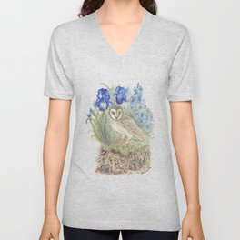 Woodlands and What Lies Beneath Unisex V-Neck