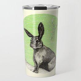 A rabbit Travel Mug