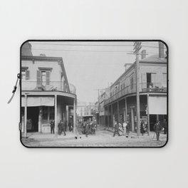 Madison Street, New Orleans, Louisiana 1906 Laptop Sleeve