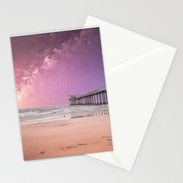 Pier into the Galaxy Stationery Cards