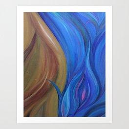 Fire & Water Art Print