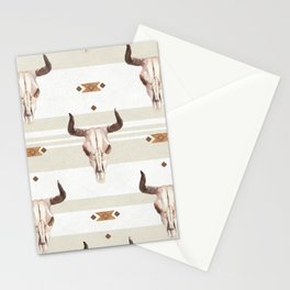 Skulls and Southwest Dreams Stationery Cards