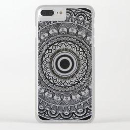 Mandala 4 Clear iPhone Case
