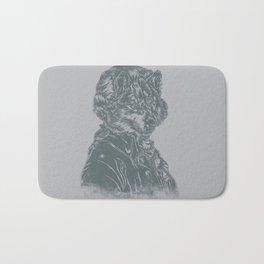 Wolf Amadeus Mozart Bath Mat