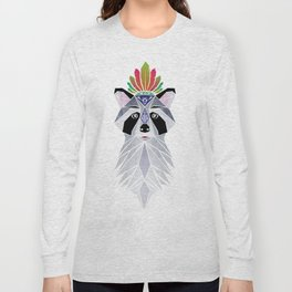 raccoon spirit Long Sleeve T-shirt